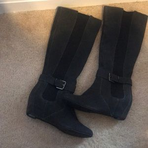 Kenneth Cole calf boots
